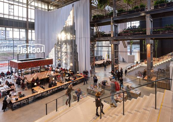 LocHal receives the Habitat award at the Dutch Design Awards 2019