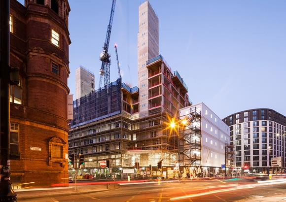 Video update on the £250m KAMPUS development in central Manchester