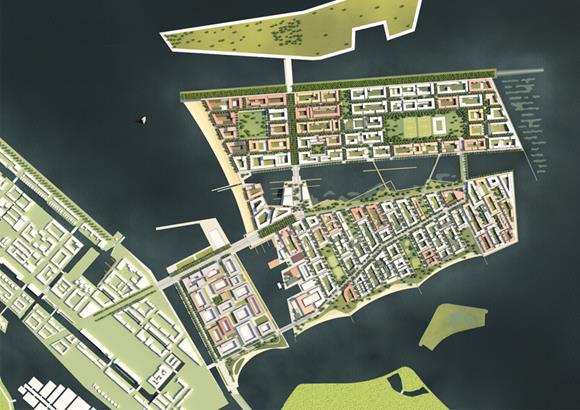 Strandeiland IJburg: two 'islands' with distinct character