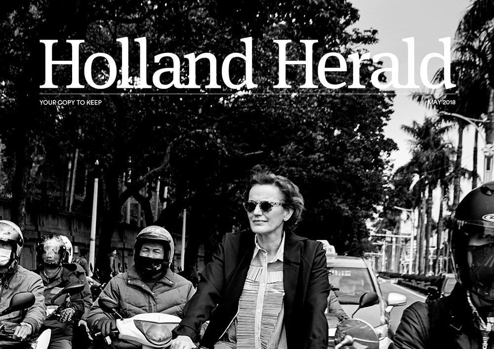 01 05 2018 KLM Holland Herald Architect Francine Houben On A Mission In Taiwan