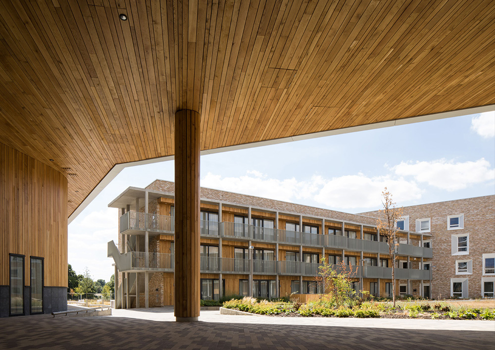 01 09 2018 Courtyards and Communal Identity by Mecanoo at Open Cambridge 2018 2