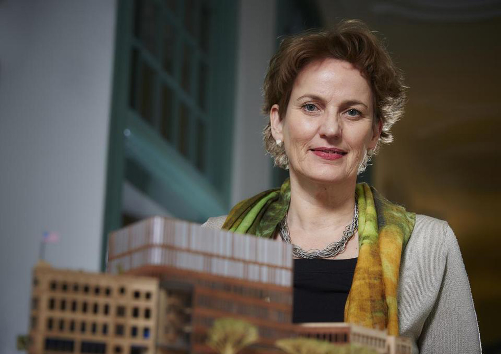 06 01 2014 Architect Francine Houben envisions building as a symbol
