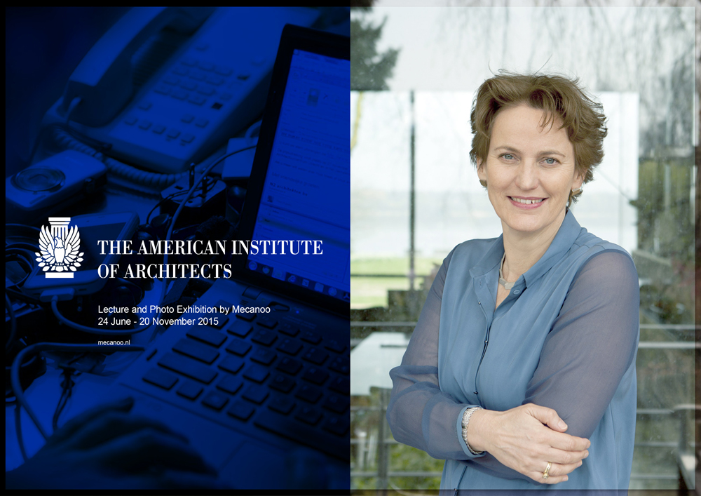 09 06 2015 Francine Houben to give at AIA in Washington