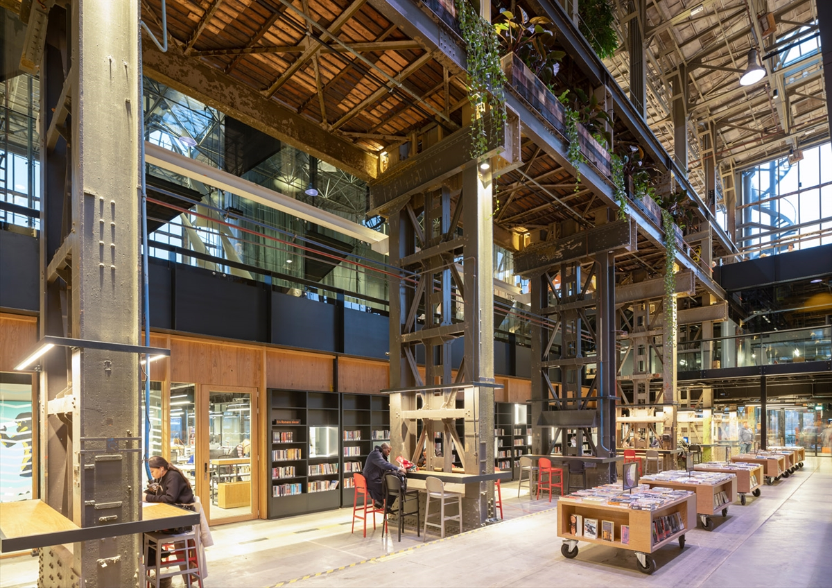 15 01 2019 Mecanoo completes interior design for LocHal, a world-class library for Tilburg 3