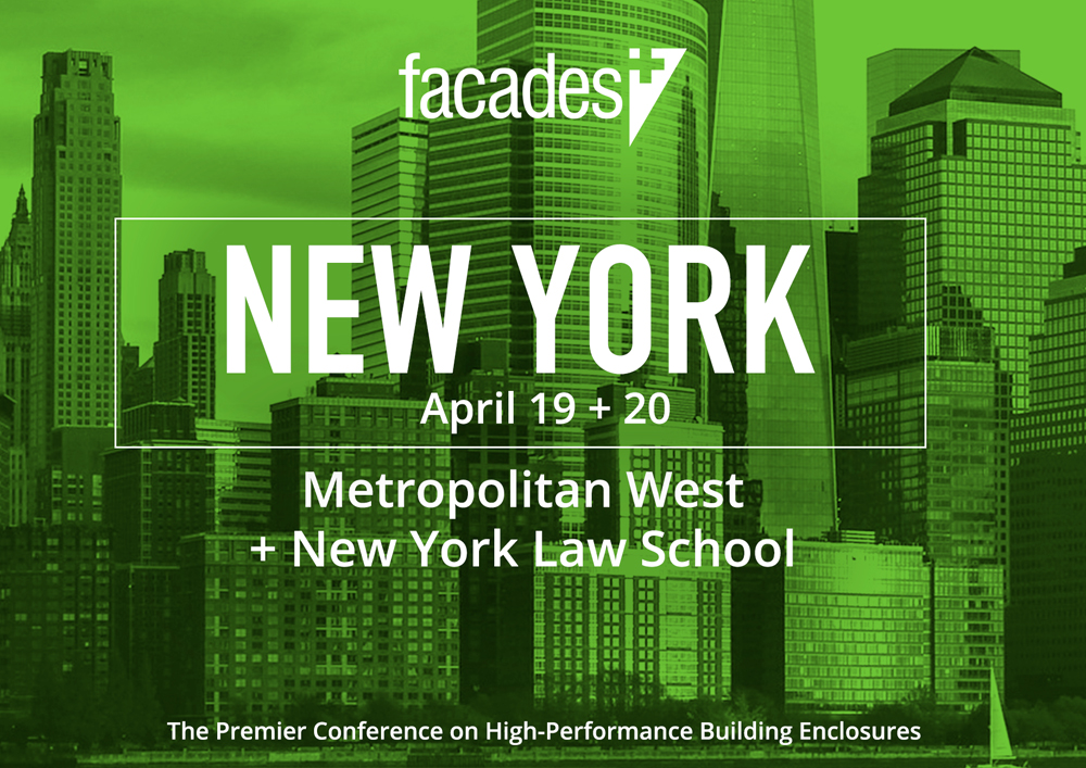 17 04 2018 Opening keynote Facades NYC by Francine Houben