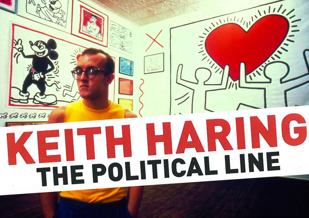 18 09 2015 Keith Haring The political line 00