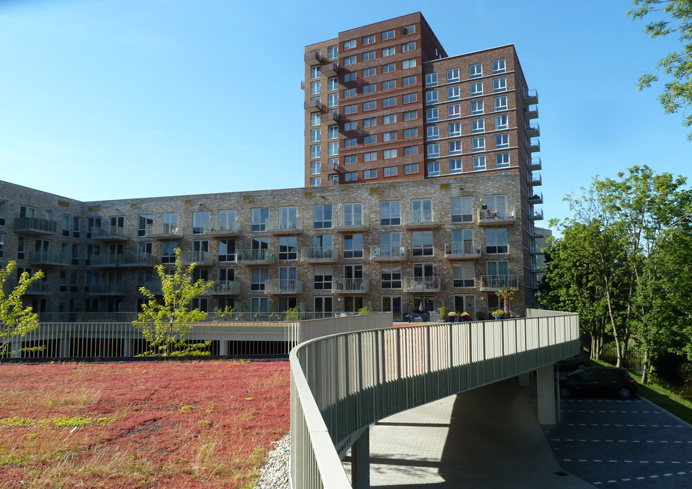 16 06 2015 First phase student campus Leiden completed
