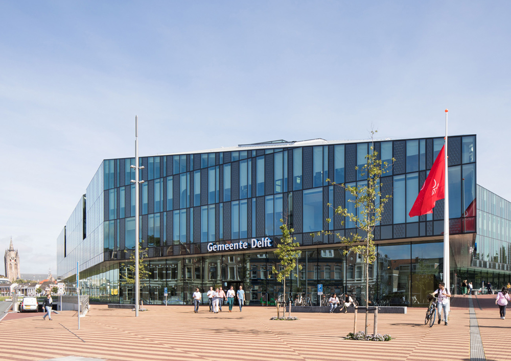 20 09 2018 Mecanoo completes Delft City Hall and Train Station 0