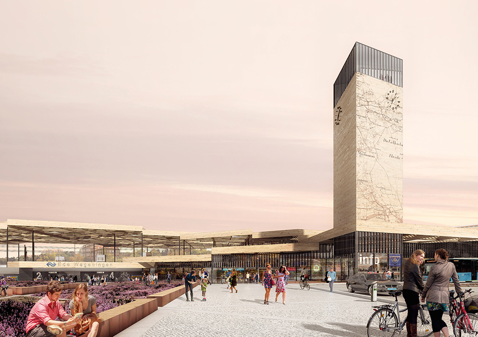 2014 09 25 Mecanoo and Movares to design train station area Ede