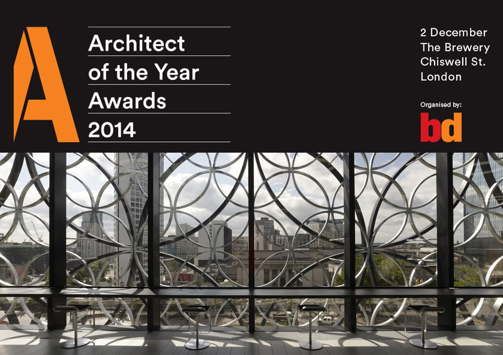 2014 10 21 Mecanoo nominated for Public Building Architect of the Year