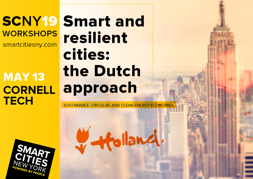 2019 05 10 Armand Paardekooper joins the Dutch delegation at the New York Smart Cities 1