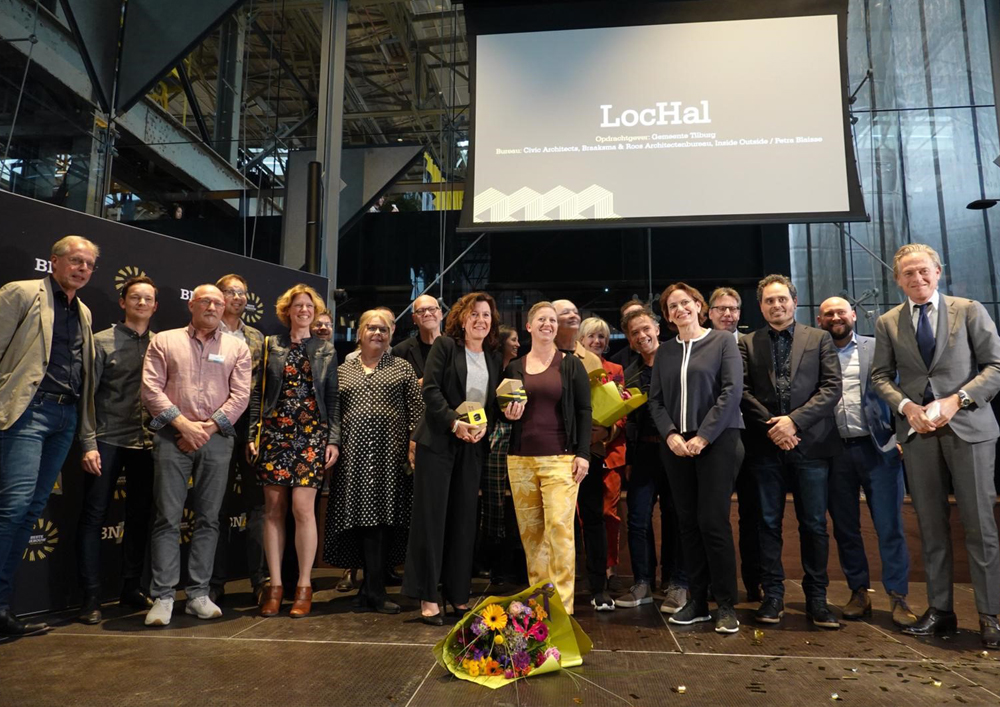 2019 05 20 LocHal awarded twice at the BNA Building of the Year19 1