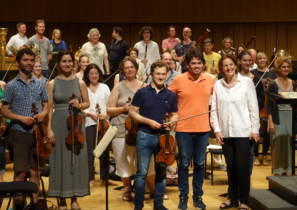 2019 06 17 The Rotterdam Philharmonic Orchestra praises the acoustics of WWY 1