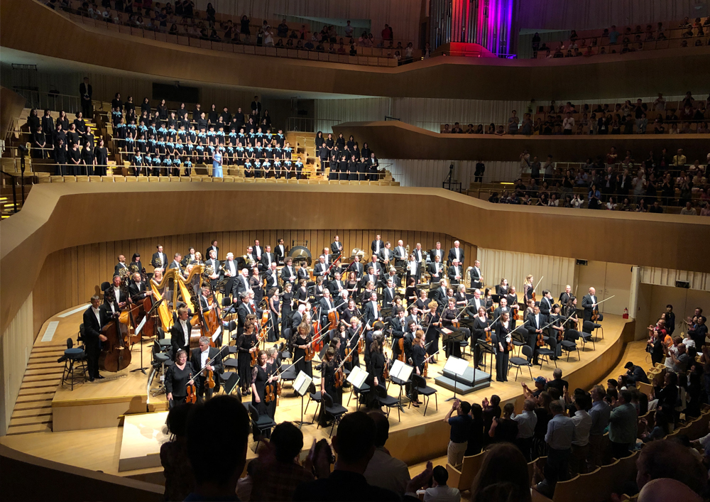 2019 06 17 The Rotterdam Philharmonic Orchestra praises the acoustics of WWY