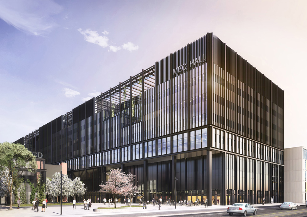 24 09 2018 Mecanoo's Manchester Engineering Campus Development Tops Out 2