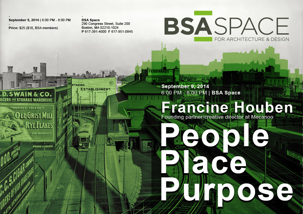 2014 09 05 Boston Society of Architects AIA People Place Purpose