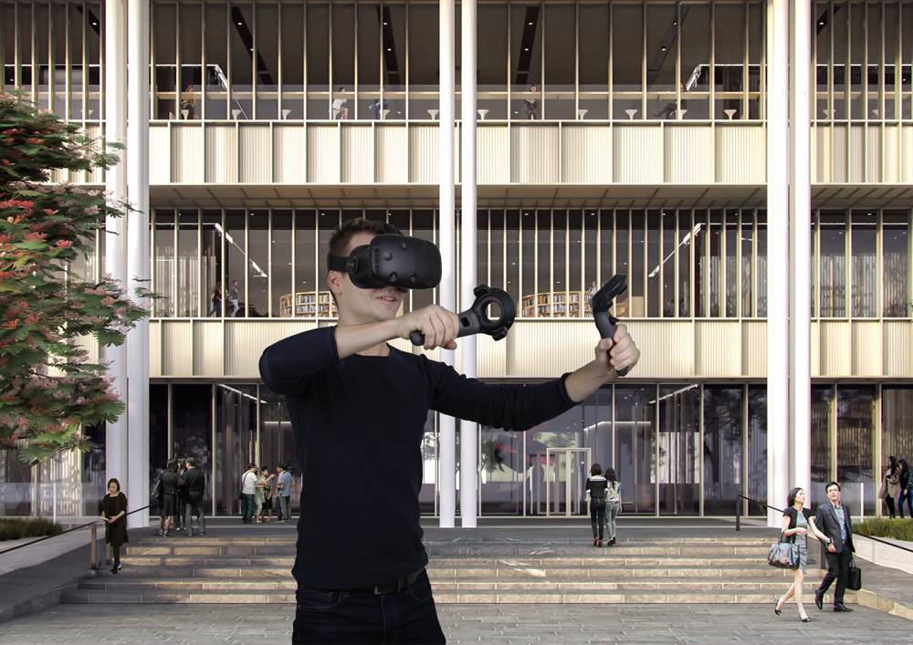 30 05 2017 Mecanoo present its approach to Virtual Reality in Venice
