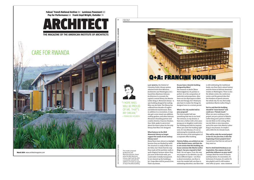 2014 03 10 ARCHITECT magazine