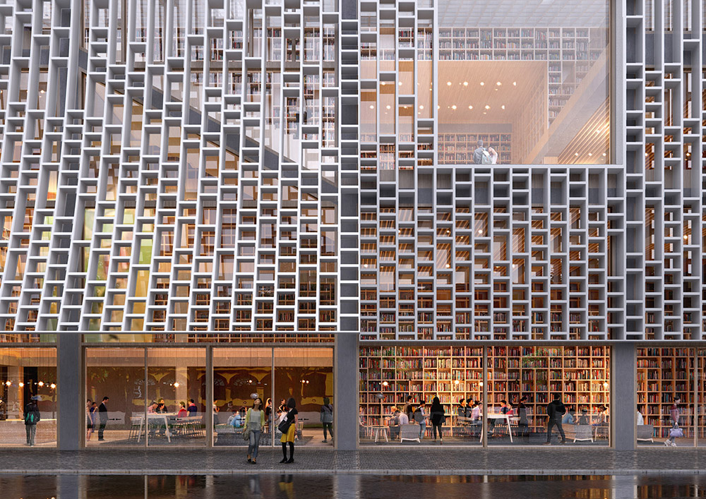 2021 03 10 Mecanoo selected to design the new Macau Central Library