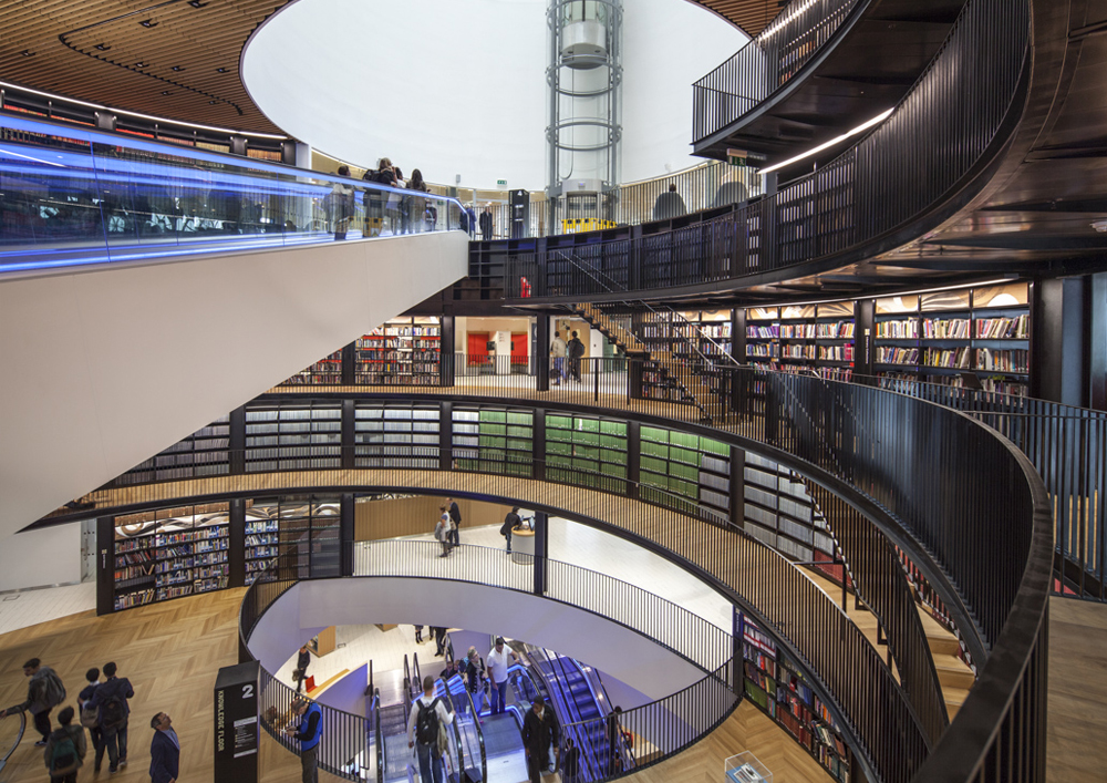 The Library of Birmingham - A People's Palace, United Kingdom. video
